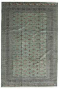 Pakistański Bucharski 3Ply Dywan 244X360 Orientalny Tkany Ręcznie Ciemnozielony/Jasnozielony (Wełna, Pakistan)