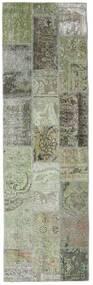 Patchwork - Persien/Iran Dywan 76X253 Nowoczesny Tkany Ręcznie Chodnik Ciemnoszary/Jasnoszary (Wełna, Persja/Iran)