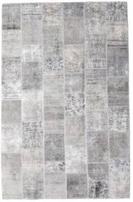 Patchwork - Persien/Iran Dywan 196X301 Nowoczesny Tkany Ręcznie Jasnoszary/Biały/Creme (Wełna, Persja/Iran)