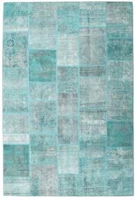Patchwork - Persien/Iran Dywan 203X300 Nowoczesny Tkany Ręcznie Jasnoniebieski/Turkusowy Niebieski (Wełna, Persja/Iran)