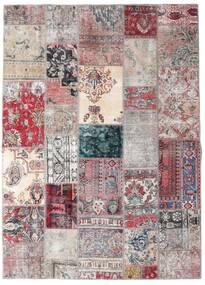 Patchwork - Persien/Iran Dywan 173X242 Nowoczesny Tkany Ręcznie Jasnoszary/Jasnofioletowy (Wełna, Persja/Iran)
