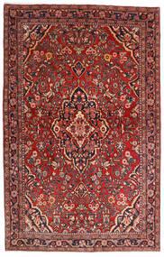 Saruk Sherkat Farsh Dywan 132X208 Orientalny Tkany Ręcznie Ciemnoczerwony/Ciemnobrązowy (Wełna, Persja/Iran)