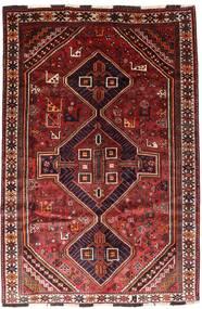 Sziraz Dywan 166X246 Orientalny Tkany Ręcznie Ciemnoczerwony/Rdzawy/Czerwony (Wełna, Persja/Iran)