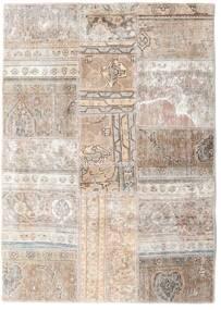 Patchwork - Persien/Iran Dywan 109X155 Nowoczesny Tkany Ręcznie Jasnoszary/Biały/Creme (Wełna, Persja/Iran)