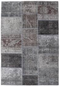 Patchwork - Persien/Iran Dywan 107X157 Nowoczesny Tkany Ręcznie Jasnoszary/Ciemnoszary (Wełna, Persja/Iran)