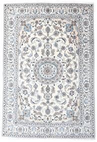 Nain Dywan 196X287 Orientalny Tkany Ręcznie Biały/Creme/Jasnoszary (Wełna, Persja/Iran)