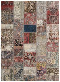 Patchwork - Persien/Iran Dywan 172X240 Nowoczesny Tkany Ręcznie Jasnoszary/Jasnobrązowy (Wełna, Persja/Iran)