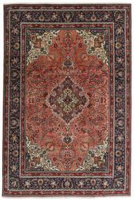 Tebriz Dywan 198X294 Orientalny Tkany Ręcznie Ciemnoszary/Czarny (Wełna, Persja/Iran)