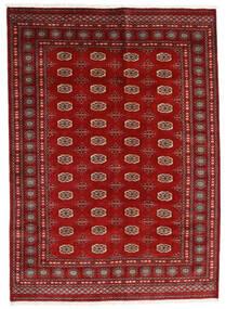 Pakistański Bucharski 3Ply Dywan 174X240 Orientalny Tkany Ręcznie Ciemnoczerwony/Rdzawy/Czerwony (Wełna, Pakistan)