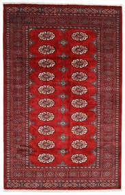 Pakistański Bucharski 3Ply Dywan 158X246 Orientalny Tkany Ręcznie Ciemnoczerwony/Rdzawy/Czerwony (Wełna, Pakistan)