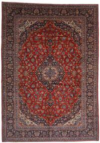 Keszan Dywan 303X403 Orientalny Tkany Ręcznie Ciemnoczerwony Duży (Wełna, Persja/Iran)