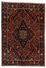 Baktjar Dywan 210X307 Orientalny Tkany Ręcznie Ciemnobrązowy/Ciemnoczerwony (Wełna, Persja/Iran)