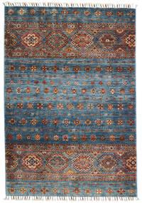 Shabargan Dywan 103X152 Nowoczesny Tkany Ręcznie Jasnoszary/Ciemnoszary (Wełna, Afganistan)