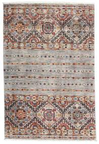 Sharbargan Dywan 82X122 Nowoczesny Tkany Ręcznie Jasnoszary/Biały/Creme (Wełna, Afganistan)