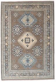 Kazak Dywan 117X173 Orientalny Tkany Ręcznie Jasnoszary/Ciemnoszary (Wełna, Afganistan)