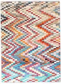 Moroccan Berber - Afghanistan Dywan 125X169 Nowoczesny Tkany Ręcznie Jasnoniebieski/Biały/Creme (Wełna, Afganistan)