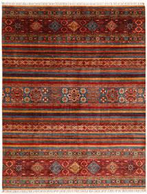 Shabargan Dywan 243X310 Nowoczesny Tkany Ręcznie Ciemnoczerwony/Rdzawy/Czerwony (Wełna, Afganistan)