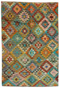 Moroccan Berber - Afghanistan Dywan 170X250 Nowoczesny Tkany Ręcznie Brązowy/Jasnobrązowy (Wełna, Afganistan)