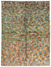 Moroccan Berber - Afghanistan Dywan 171X232 Nowoczesny Tkany Ręcznie Ciemnoszary/Brązowy (Wełna, Afganistan)