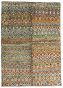 Moroccan Berber - Afghanistan Dywan 171X243 Nowoczesny Tkany Ręcznie Brązowy/Ciemnoszary (Wełna, Afganistan)