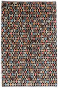 Moroccan Berber - Afghanistan Dywan 168X252 Nowoczesny Tkany Ręcznie Czarny/Jasnoszary (Wełna, Afganistan)