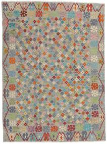 Kilim Afgan Old Style Dywan 173X232 Orientalny Tkany Ręcznie Jasnoszary/Ciemnoszary (Wełna, Afganistan)