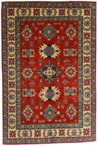 Kazak Dywan 182X276 Orientalny Tkany Ręcznie Ciemnoszary/Rdzawy/Czerwony (Wełna, Afganistan)