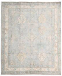 Kazak Dywan 245X296 Orientalny Tkany Ręcznie Jasnoszary/Biały/Creme (Wełna, Afganistan)