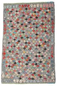 Kilim Afgan Old Style Dywan 103X159 Orientalny Tkany Ręcznie Ciemnoszary/Brązowy (Wełna, Afganistan)