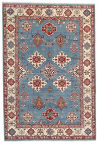 Kazak Dywan 183X269 Orientalny Tkany Ręcznie Ciemnobrązowy/Niebieski (Wełna, Afganistan)