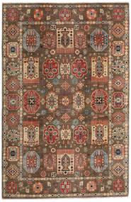 Kazak Dywan 197X299 Orientalny Tkany Ręcznie Jasnobrązowy/Ciemnobrązowy (Wełna, Afganistan)