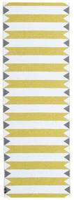 Dywan Zewnętrzny Circus - Żółty Dywan 70X200 Nowoczesny Chodnik Beżowy/Żółty ( Szwecja)