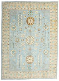 Ziegler Ariana Dywan 306X422 Orientalny Tkany Ręcznie Jasnoszary/Turkusowy Niebieski Duży (Wełna, Afganistan)