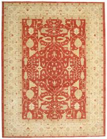Ziegler Ariana Dywan 300X394 Orientalny Tkany Ręcznie Ciemnobeżowy/Beżowy/Czerwony Duży (Wełna, Afganistan)