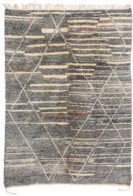 Berber Moroccan - Mid Atlas Dywan 200X283 Nowoczesny Tkany Ręcznie Jasnoszary/Ciemnoszary (Wełna, Maroko)