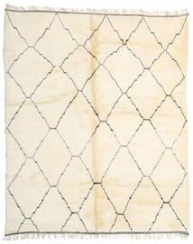 Berber Moroccan - Beni Ourain Dywan 274X330 Nowoczesny Tkany Ręcznie Beżowy/Biały/Creme Duży (Wełna, Maroko)