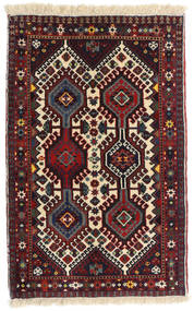 Yalameh Dywan 61X96 Orientalny Tkany Ręcznie (Wełna, Persja/Iran)