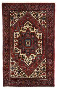 Gholtogh Dywan 80X127 Orientalny Tkany Ręcznie Ciemnoczerwony/Ciemnobrązowy (Wełna, Persja/Iran)