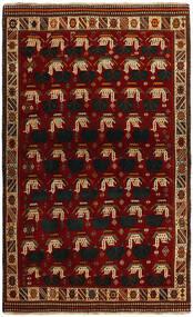 Kaszkaj Dywan 118X194 Orientalny Tkany Ręcznie Czerwony/Ciemnoczerwony (Wełna, Persja/Iran)