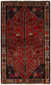 Kaszkaj Dywan 120X197 Orientalny Tkany Ręcznie Ciemnoczerwony/Jasnobrązowy (Wełna, Persja/Iran)
