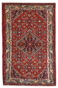 Asadabad Dywan 84X127 Orientalny Tkany Ręcznie (Wełna, Persja/Iran)