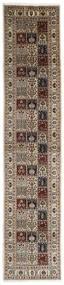 Moud Dywan 81X381 Orientalny Tkany Ręcznie Chodnik (Wełna/Jedwab, Persja/Iran)