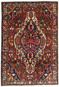 Baktjar Dywan 201X296 Orientalny Tkany Ręcznie Ciemnoczerwony/Ciemnobrązowy (Wełna, Persja/Iran)
