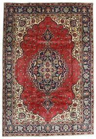 Tebriz Dywan 207X295 Orientalny Tkany Ręcznie Ciemnoczerwony/Ciemnobrązowy (Wełna, Persja/Iran)