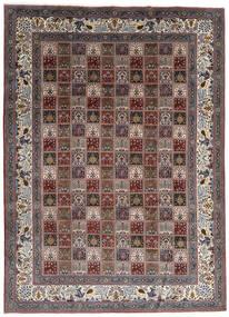 Moud Dywan 247X337 Orientalny Tkany Ręcznie Ciemnobrązowy/Ciemnoczerwony (Wełna/Jedwab, Persja/Iran)
