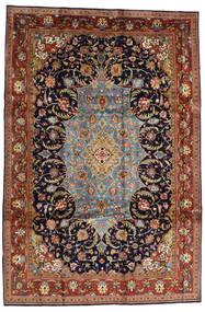 Saruk Sherkat Farsh Dywan 231X344 Orientalny Tkany Ręcznie Ciemnobrązowy/Ciemnofioletowy (Wełna, Persja/Iran)