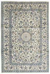 Keszan Dywan 240X355 Orientalny Tkany Ręcznie Beżowy/Jasnoszary (Wełna, Persja/Iran)