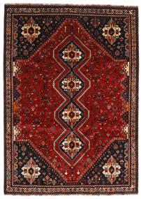 Kaszkaj Dywan 226X318 Orientalny Tkany Ręcznie Ciemnoczerwony/Ciemnobrązowy (Wełna, Persja/Iran)