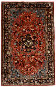 Mehraban Dywan 188X290 Orientalny Tkany Ręcznie Ciemnoczerwony/Rdzawy/Czerwony (Wełna, Persja/Iran)