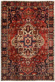 Baktjar Dywan 214X316 Orientalny Tkany Ręcznie Ciemnobrązowy/Ciemnoczerwony (Wełna, Persja/Iran)